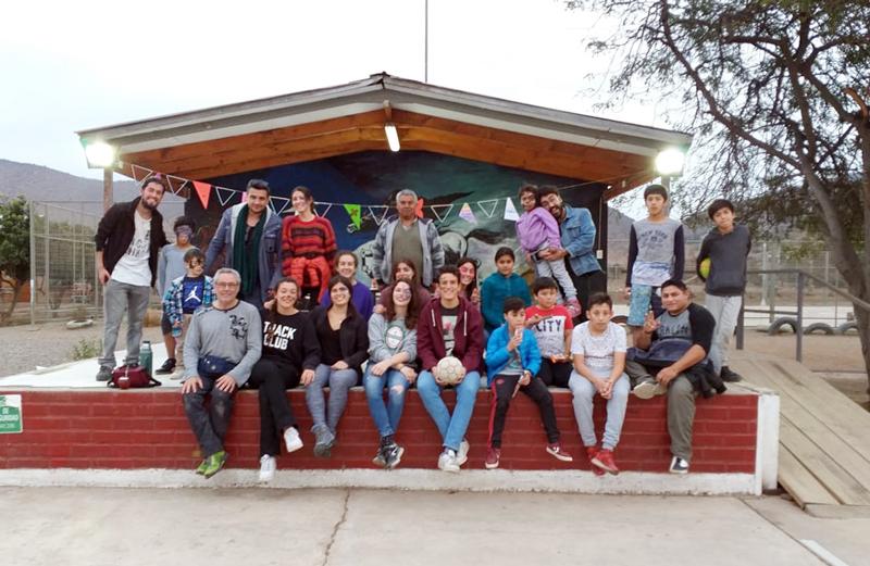 Intercambio cultural y trabajo en equipo: voluntariado de U. de Comillas estuvo en Cabildo
